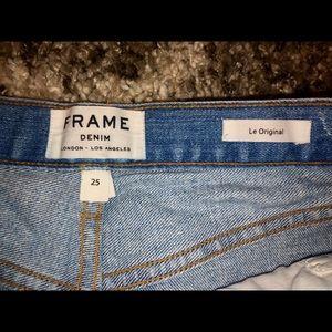 Frame Denim Shorts - FRAME Le Original Shorts